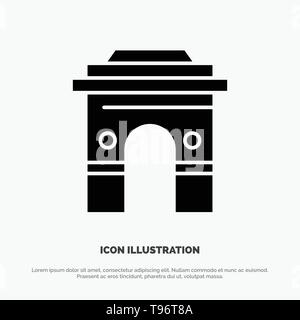 Culture, Global, Hinduism, India, Indian, Srilanka, Temple solid Glyph Icon vector - Stock Photo