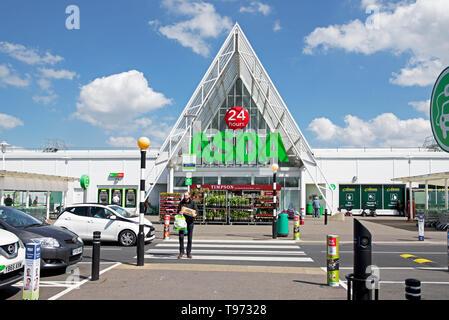 ASDA supermarket in Lakeside Village, Doncaster, South Yorkshire, England UK