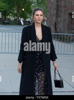 New York, NY - May 15, 2019: Dasha Zhukova arrives at the Statue Of Liberty Museum Opening Celebration at Battery Park - Stock Photo