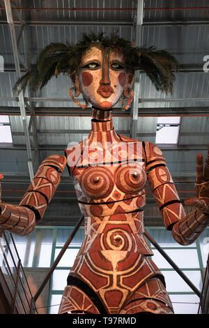 Nell'area museal della Cittadella  del Carnevale - Stock Photo