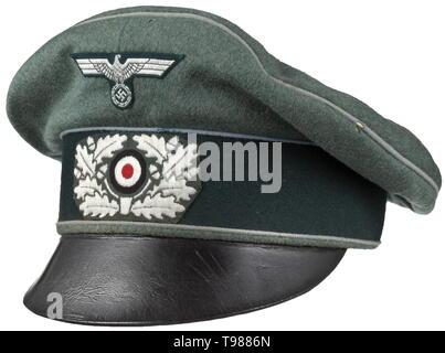 d2e79bb58 An old style visor cap for officers of motorised units maker Erel ...