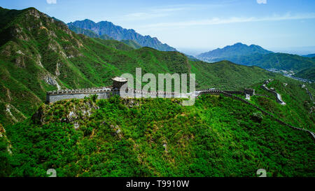 Great Wall of China, Beijing, China - Stock Photo