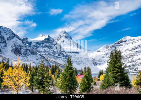 Mount Assiniboine Provincial Park, British Columbia, Canada - Stock Photo