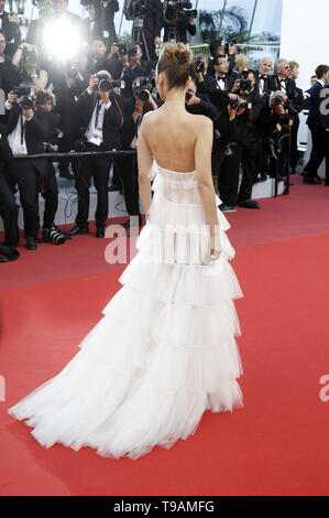 Bella Hadid attending the 'Rocketman' premiere during the 72nd Cannes Film Festival at the Palais des Festivals on May 16, 2019 in Cannes, France | usage worldwide - Stock Photo
