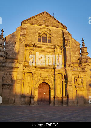 Church of El Salvador - Unesco World Heritage -. Úbeda, Jaén, Andalusia, Spain. - Stock Photo