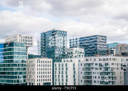 Oslo cityscape - Stock Photo