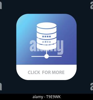 Dollar, Server, Money, Computing Mobile App Icon Design - Stock Photo