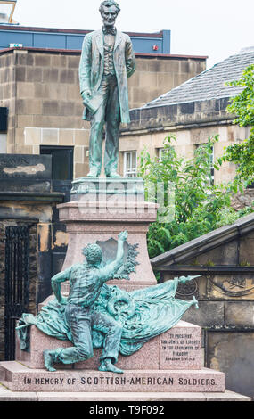 The city of Edinburgh is the capital of Scotland an old city in the heart of Scotland it has many tourist attractions - Stock Photo