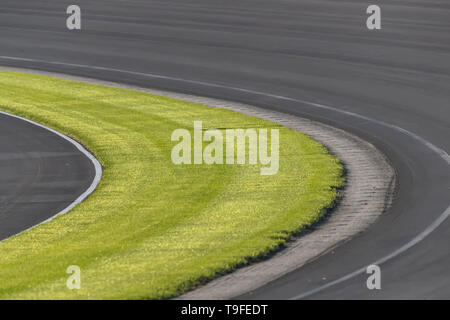 Indianapolis, Indiana, USA. 18th May, 2019. Indianapolis Motor Speedway plays host to the Indianapolis 500 in Indianapolis, Indiana. (Credit Image: © Walter G Arce Sr Asp Inc/ASP) - Stock Photo