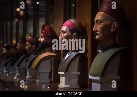 People of the city, Dr Bhau Daji Lad Museum, Mumbai, India - Stock Photo