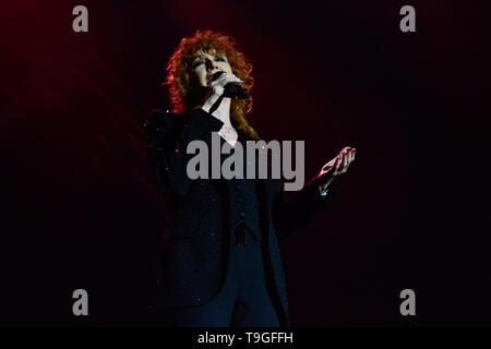 ripetere Tatto In piedi  Padova, Italy. 18nd May, 2019. Fiorella Mannoia performs live for her