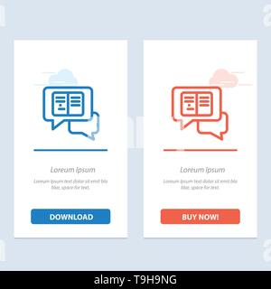 Chat, Messages, Popup, Sms Blue Icon on Abstract Cloud Background