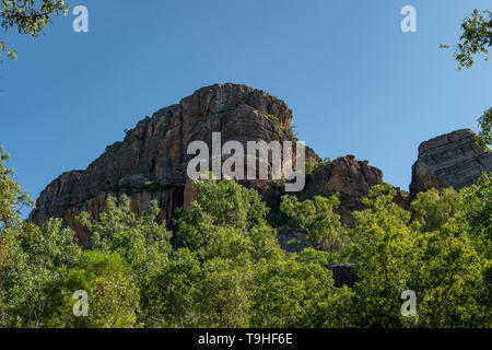 Burrunggui Rock, Kakadu NP, NT - Stock Photo