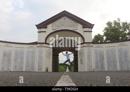 Jump Over Kerkhof - Stock Photo