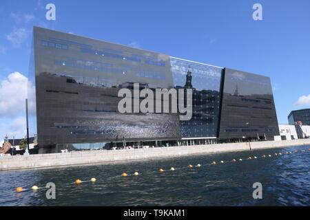 COPENHAGEN, DENMARK - AUGUST 26, 2018: The National Royal Library of Denmark