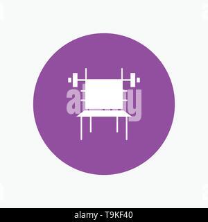 Balance, Dumbbell, Fitness, Gym, Machine - Stock Photo