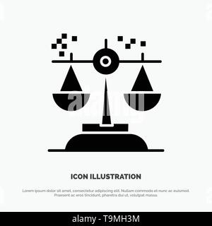 Choice, Conclusion, Court, Judgment, Law solid Glyph Icon vector - Stock Photo