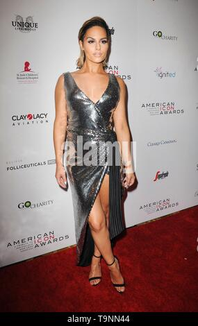 Beverly Hills, CA. 19th May, 2019. Pia Toscano at arrivals for The American Icon Awards Gala, The Beverly Wilshire Hotel, Beverly Hills, CA May 19, 2019. Credit: Elizabeth Goodenough/Everett Collection/Alamy Live News - Stock Photo