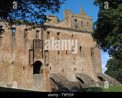 Linlithgow Castle, Scotland, birthplace of Mary Queen of Scots - Stock Photo