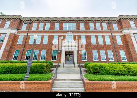 CLEMSON, SC, USA - May 3: Long Hall at Clemson University on May 3, 2019 in Clemson, South Carolina. - Stock Photo