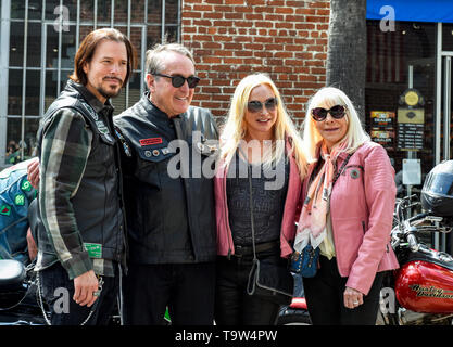 May 5, 2019, Glendale, California, Sean McNabb, Wendy dio and friends the 5th annual charity motorcycle ride & concert to benefit the Dio Cancer Fund. - Stock Photo