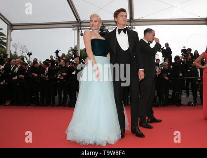 Cannes, France. 20th May, 2019. Cannes Film Festival. La Belle Epoque Premiere. Pixie Lott, Oliver Cheshire, 2019 Credit: Allstar Picture Library/Alamy Live News - Stock Photo