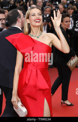 Cannes, France. 20th May, 2019. Petra Nemcova attending the 'La belle époque' premiere during the 72nd Cannes Film Festival at the Palais des Festivals on May 20, 2019 in Cannes, France | usage worldwide Credit: dpa/Alamy Live News - Stock Photo