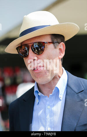 May 20, 2019 - London, United Kingdom - Anton Du Beke seen during the Chelsea Flower Show..The Royal Horticultural Society Chelsea Flower Show is an annual garden show over five days in the grounds of the Royal Hospital Chelsea in West London. The show is open to the public from 21 May until 25 May 2019. (Credit Image: © Dinendra Haria/SOPA Images via ZUMA Wire) - Stock Photo
