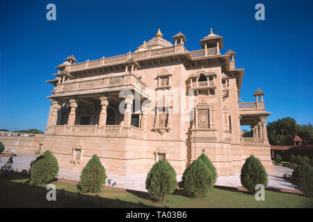VIEW OF SWAMINARAYAN TEMPLE, AKSHARDHAM, AHMEDABAD, - Stock Photo