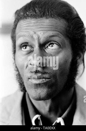 Berry Chuck Amsterdam, Netherlands - 1973,  (Photo Gijsbert Hanekroot) - Stock Photo