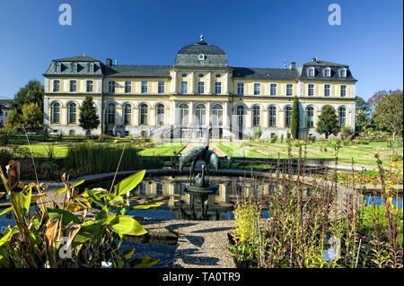 Poppelsdorf Palace, Botanical garden, Bonn, Germany, Europe - Stock Photo