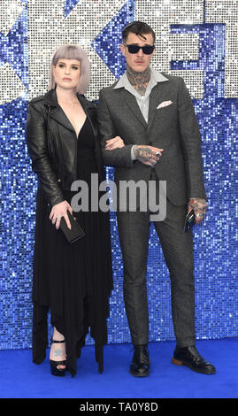 Photo Must Be Credited ©Alpha Press 079965 20/05/2019 Kelly Osbourne and Jimmy Q Rocketman UK Premiere Leicester Square London - Stock Photo