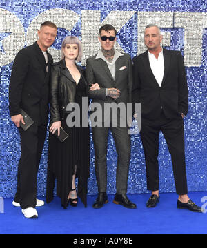 Photo Must Be Credited ©Alpha Press 079965 20/05/2019 Kelly Osbourne and Jimmy Q DJ Fat Tony Rocketman UK Premiere Leicester Square London - Stock Photo