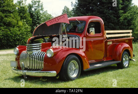1946 Custom Chevrolet Pickup Truck - Stock Photo