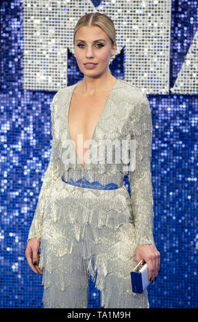 Celinde Schoenmaker attends the 'Rocketman' UK premiere at Odeon Leicester Square on May 20, 2019 in London, England. - Stock Photo