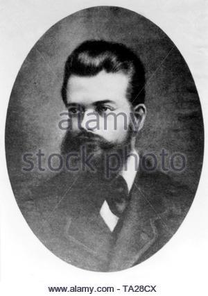 Ludwig Boltzmann, Austrian physicist. - Stock Photo
