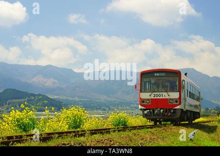 Minami Aso Railway, Kumamoto Prefecture, Japan - Stock Photo