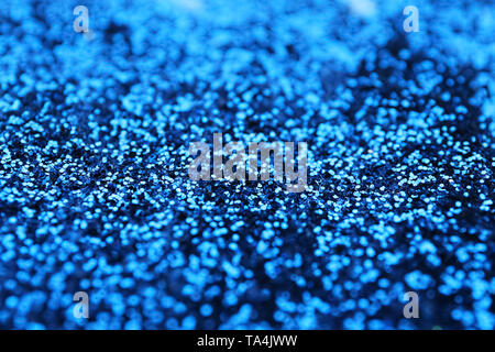 Closeup view of color glitters - Stock Photo