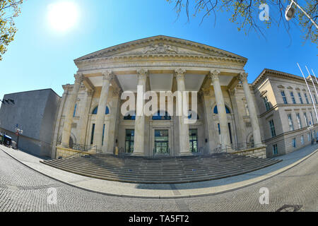 Landtag of Lower Saxony, rope castle, Hannah Arendt place, Hannover, Lower Saxony, Germany, Landtag Niedersachsen, Leineschloß, Hannah-Arendt-Platz, N - Stock Photo