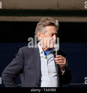Exeter, UK. 22nd May, 2019. Labour Party rally in Bedford Street and Hustings at Exeter Cathedral. Ben Bradshaw MP. Credit: Anthony Collins/Alamy Live News - Stock Photo