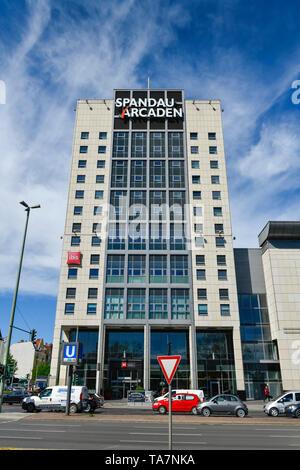 Spandau-Arcaden, Klosterstrasse, Spandau, Berlin, Germany, Deutschland - Stock Photo