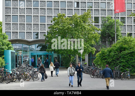 Central library and land library, America commemorative library, place Blücher, cross mountain, Berlin, Germany, Zentral- und Landesbibliothek, Amerik - Stock Photo