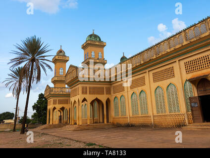 Grand mosque, Poro region, Korhogo, Ivory Coast - Stock Photo
