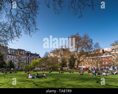 Lincoln's Inn Fields, London, UK - Stock Photo
