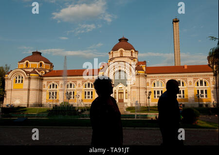 The regional history museum, Sofia, Bulgaria. Bulgaria with an ageing population is the fastest shrinking country in Europe. - Stock Photo