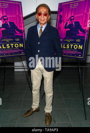 New York, NY - May 22, 2019: Valentino attends The New York Special Screening of 'HALSTON' - Stock Photo