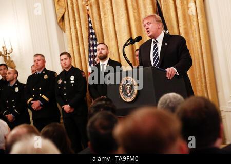 Washington, USA  22nd May, 2019  U S  President Donald Trump