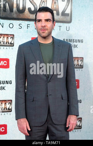 Zachary Quinto at the premiere of the AMC TV series 'NOS4A2