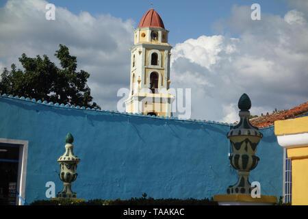 Plaza Mayor, Trinidad, Cuba - Stock Photo