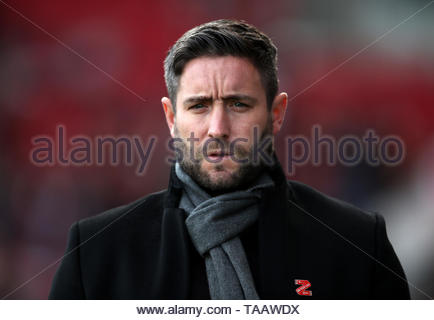 File photo dated 07-10-2018 of Bristol City manager Lee Johnson - Stock Photo